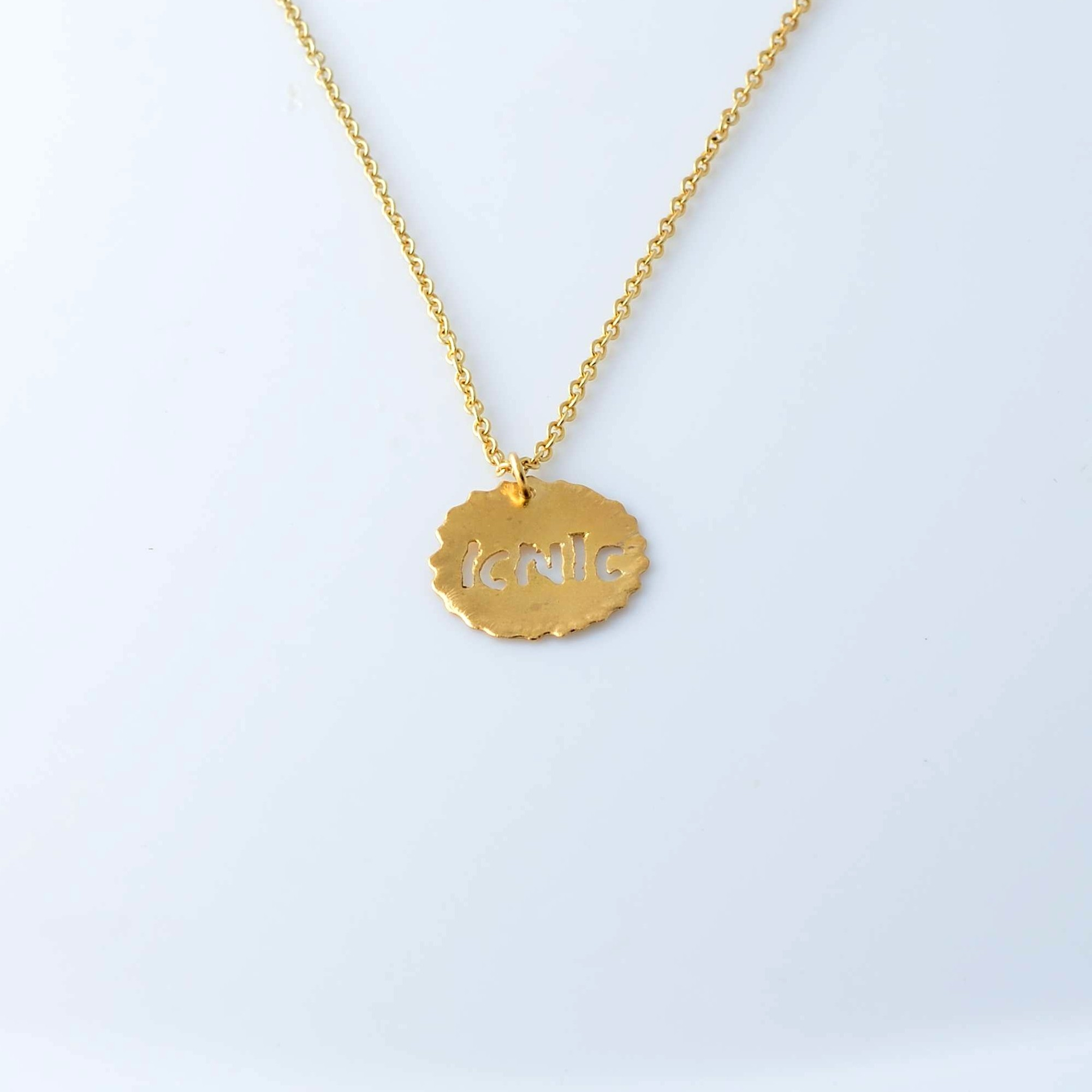 Gold plated necklace Mother